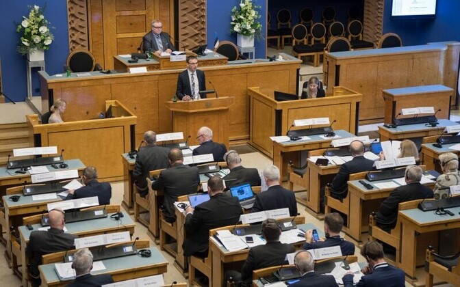 At the meeting of the Baltic Assembly and the Baltic Council in the Riigikogu, Nov. 10, 2017.