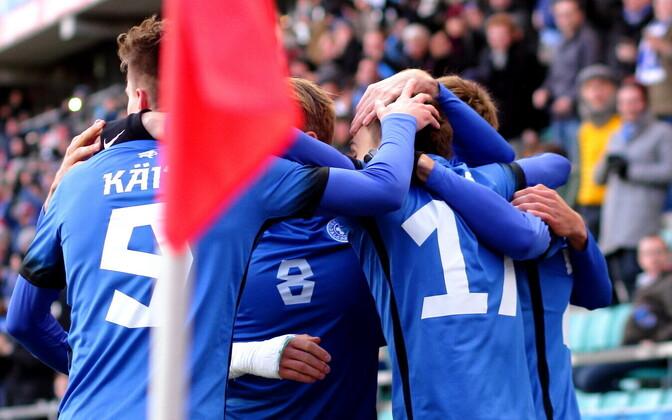 Футболисты сборной Эстонии выйдут на игру в роли фаворитов.
