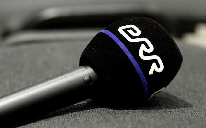 ERR logoga mikrofon