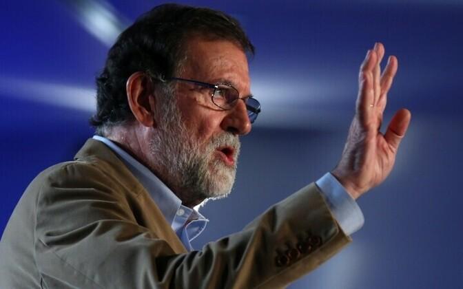 Мариано Рахой впервые посетил Барселону с начала кризиса в Каталонии.