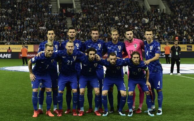 Horvaatia jalgpallikoondis