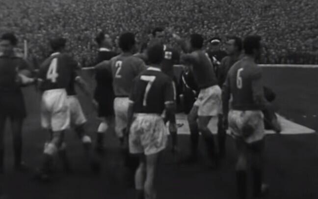 Põhja-Iirimaa - Itaalia jalgpall 1957
