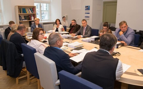 Riigikogu Committee on Legal Affairs.