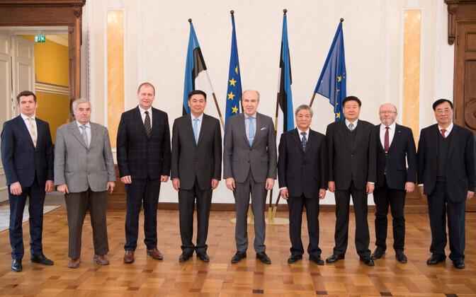 Делегация китайских парламентариев провела переговоры в Рийгикогу.