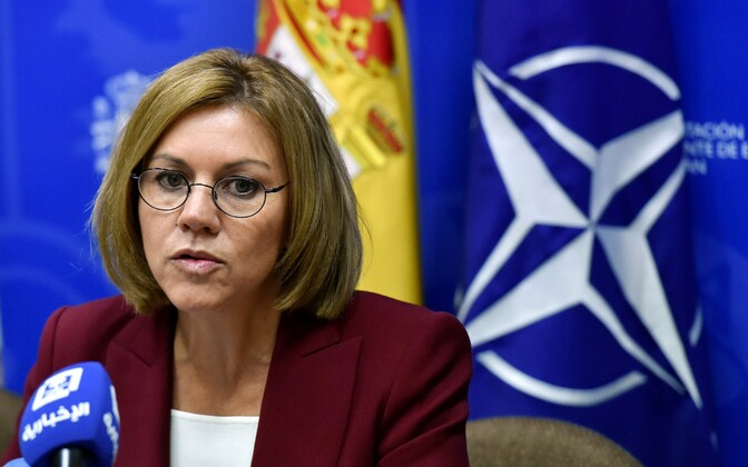 Hispaania kaitseminister Dolores de Cospedal.