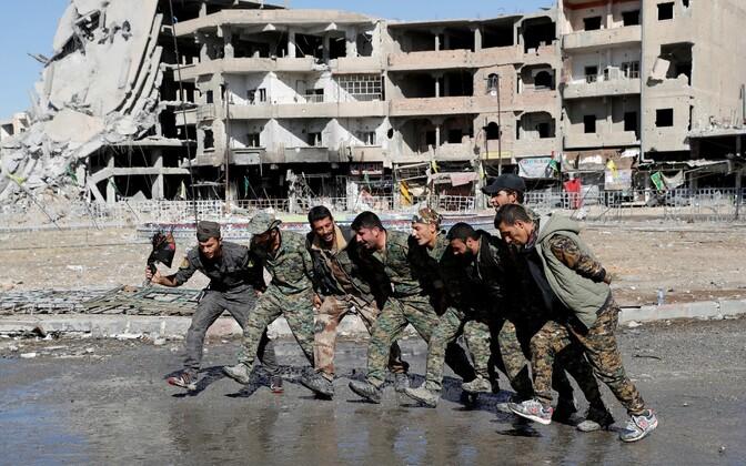Ракка долгое время оставалась столицей