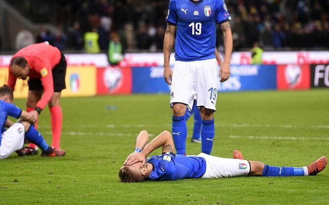 Футболисты сборной Италии не попали на чемпионат мира.