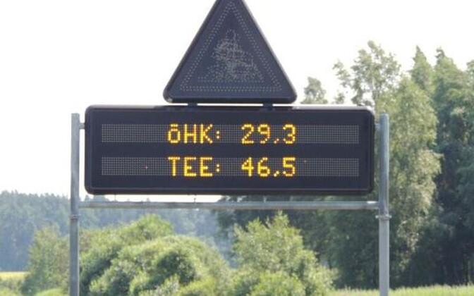 Elektroonilised liiklusmärgid