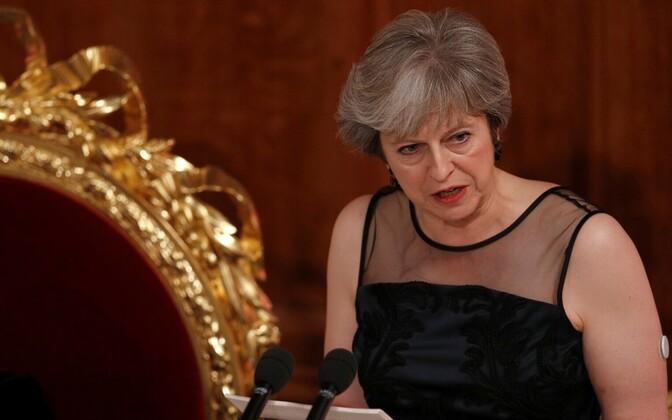 Theresa May kõne Londonis 13. novembril.