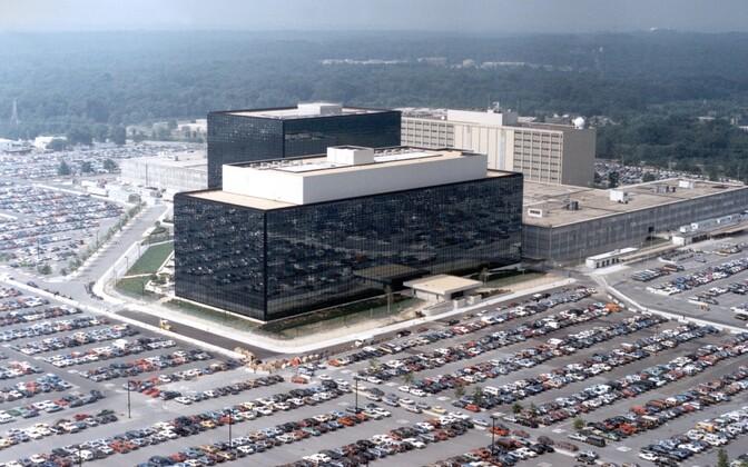 NSA peakorter ehk Fort Meade Marylandi osariigis.