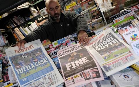 Itaalia ajalehed