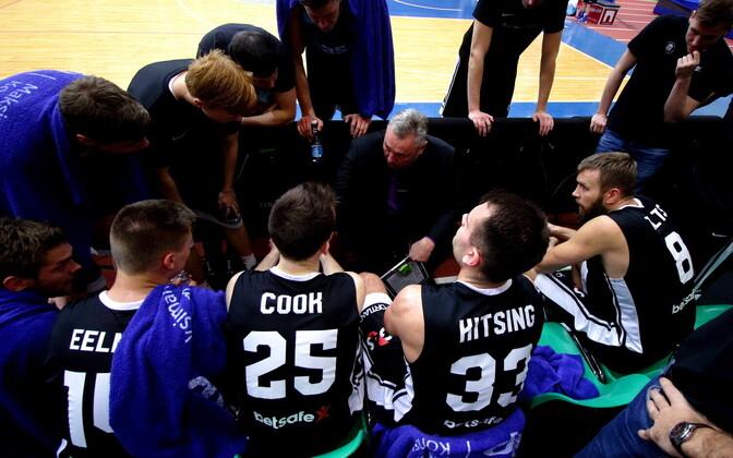 Баскетболисты Тартуского университета.