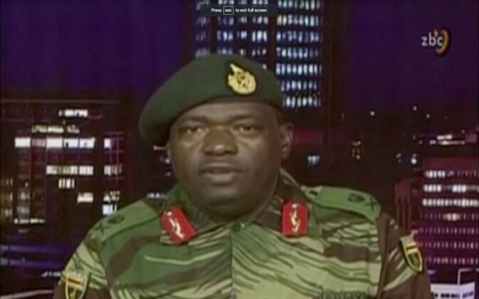 Генерал армии Зимбабве выступил с обращением к нации.