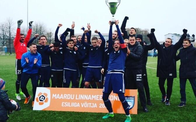 В сезоне 2018 Маарду вернется на карту большого футбола Эстонии.