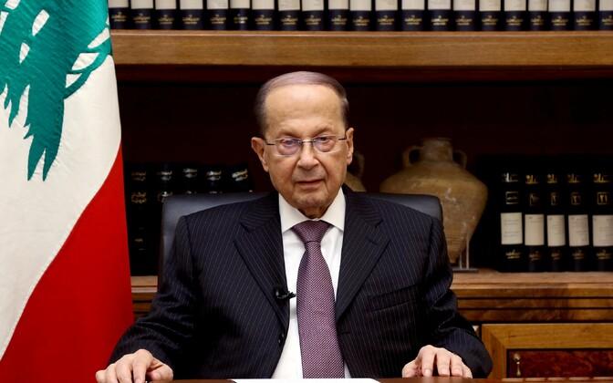 Liibanoni president Michel Aoun.