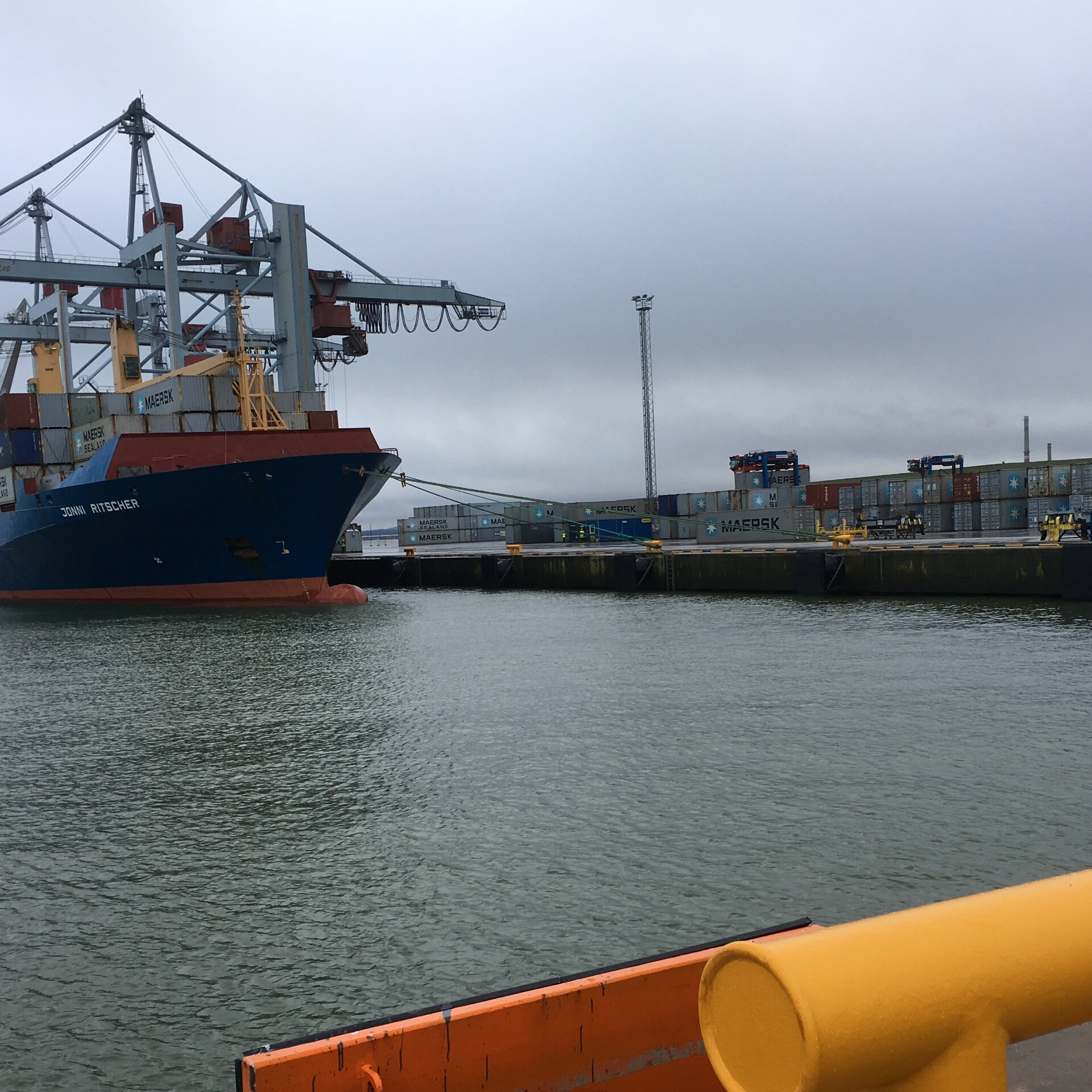 Container shipping volumes at Sillamäe port increase tenfold
