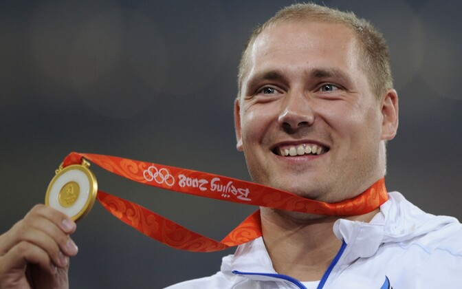 Gerd Kanter, olümpiavõitja aastast 2008.