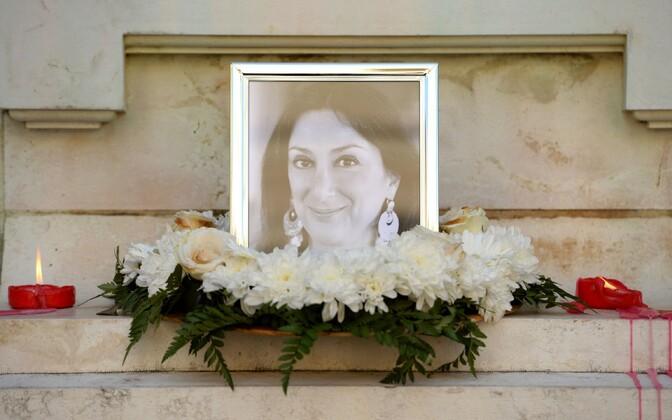 Ajakirjanik Daphne Caruana Galizia mälestamine 19. oktoobril Vallettas.