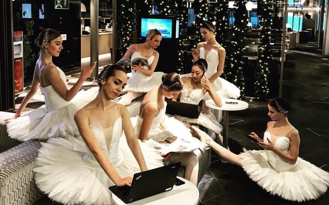 Rahvusooper Estonia baleriinid
