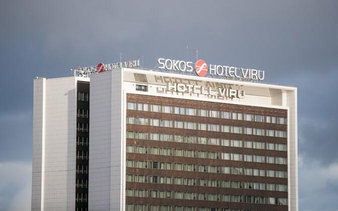 Hotel Viru in Central Tallinn.