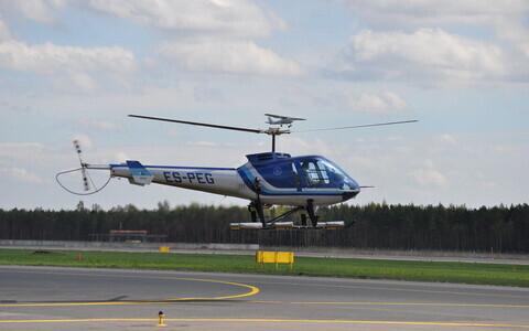 Müüdav helikopter.