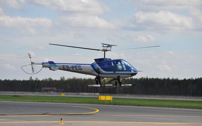 Müügil olnud helikopter.