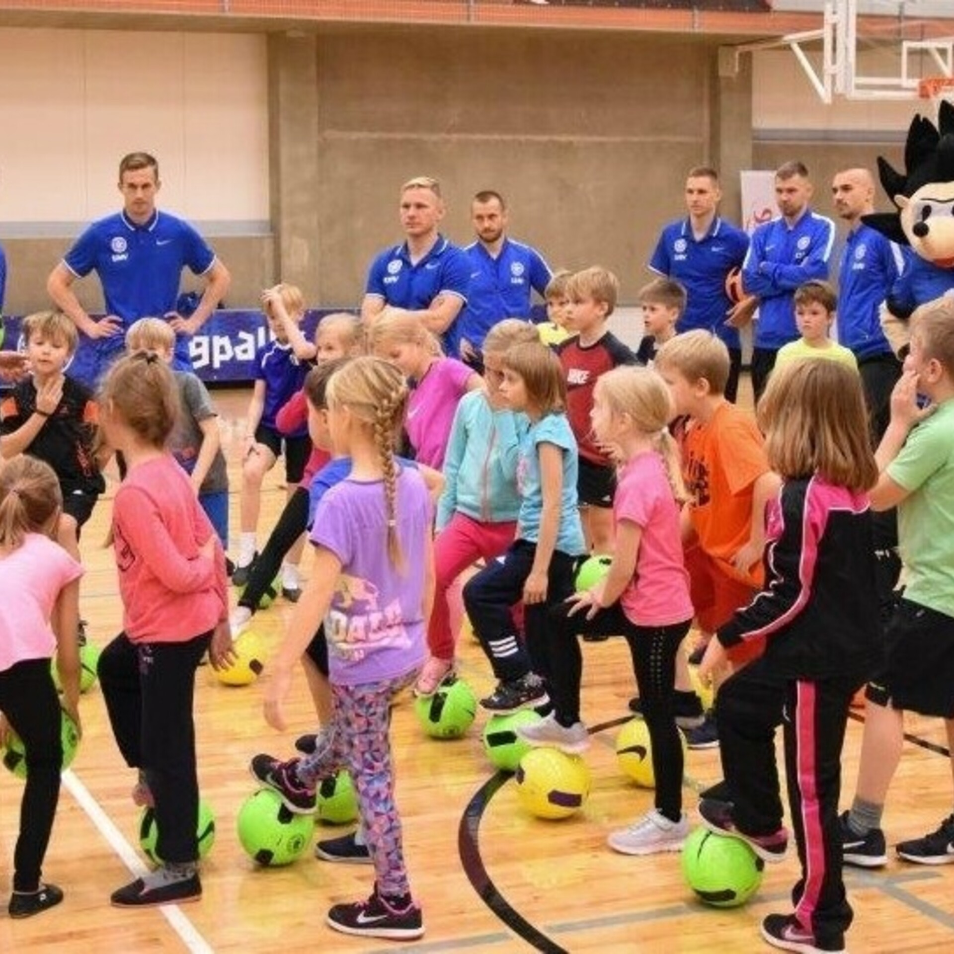 dcbc8bd4437 EJL-i kooliprojekti viiendast hooajast võttis osa üle 4000 lapse   Jalgpall    ERR
