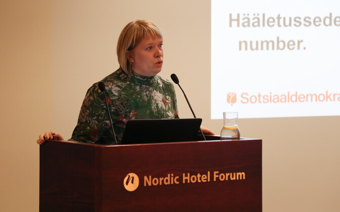 SDE volikogu juhataja Marika Saar.