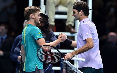 David Goffin ja Roger Federer