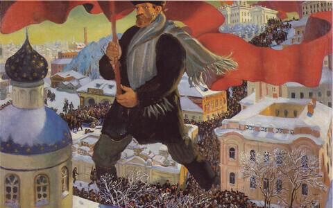 Boris Kustodievi 1920. aastal valminud maal
