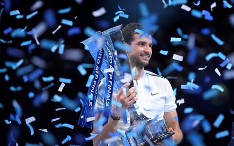 Грегор Димитров выиграл итоговый турнир ATP.