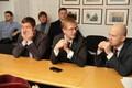 Keskerakonna Tallinna nõukogu esmaspäevaõhtusel kohtumisel.