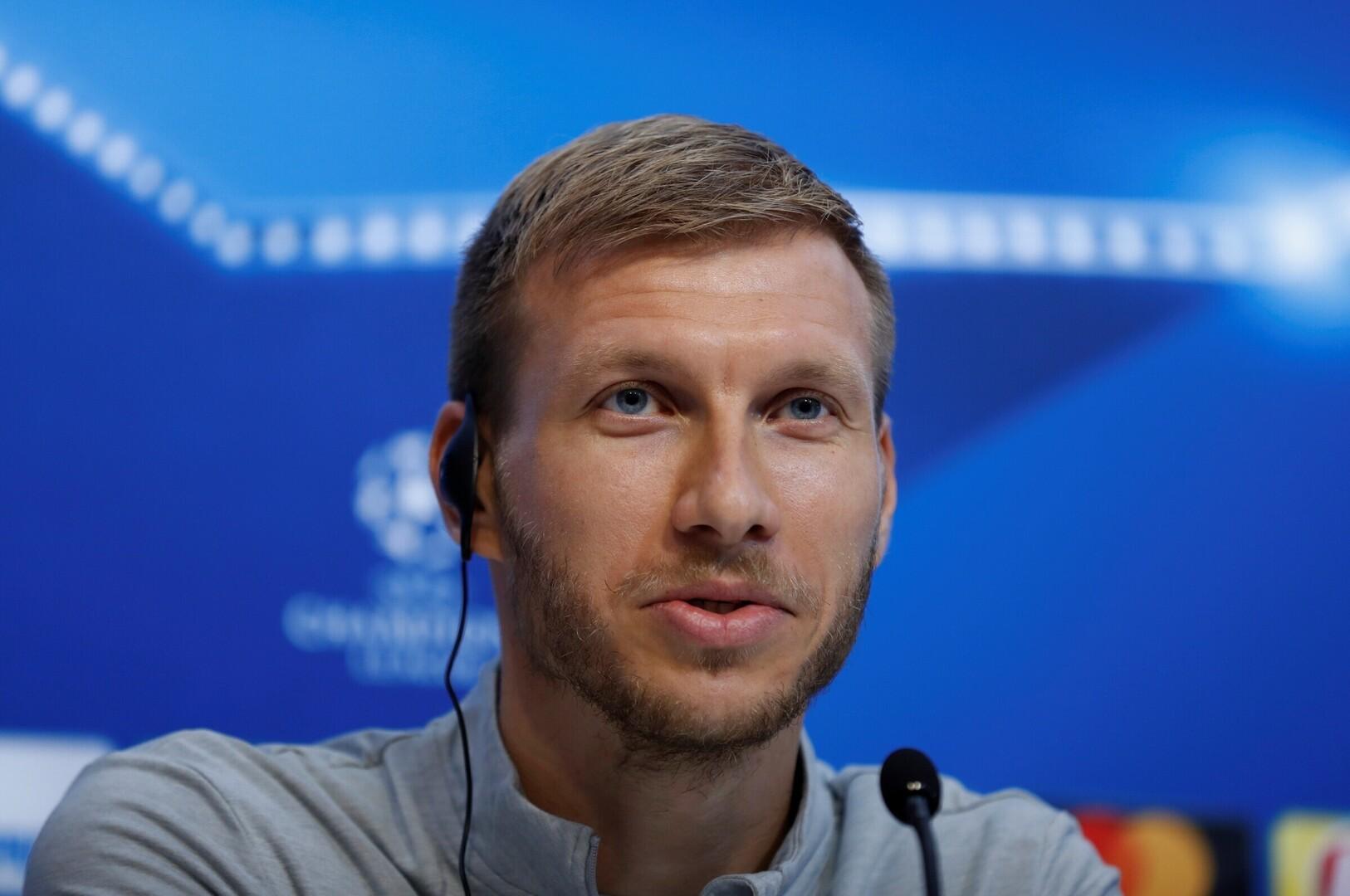 44fa596504f Ragnar Klavan Autor/allikas: Reuters/Scanpix. Jalgpall. Eesti  jalgpallikoondise kapten ...