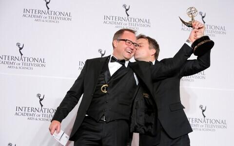Norrakad Vegard Stenberg Eriksen ja Gjermund Stenberg Eriksen parima rahvusvahelise draamasarja auhinnaga