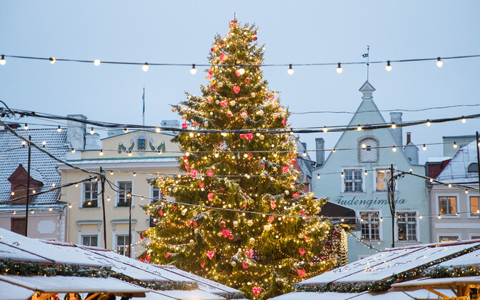 Tallinn will be a European hotspot for Russian tourists spending New Year's Eve abroad.