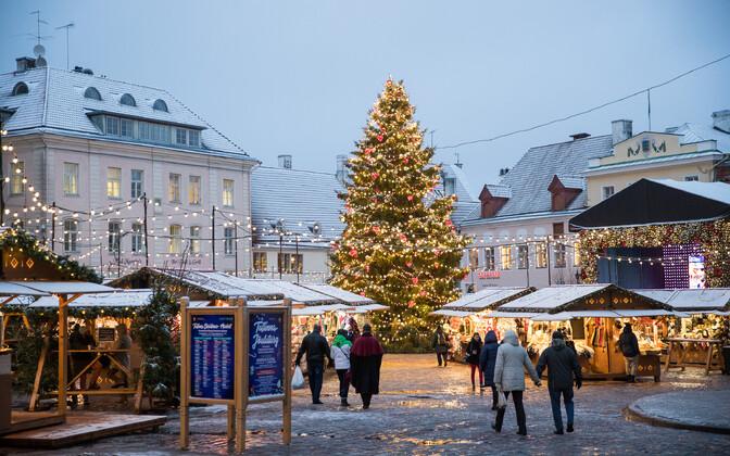 Tallinn Christmas Market.