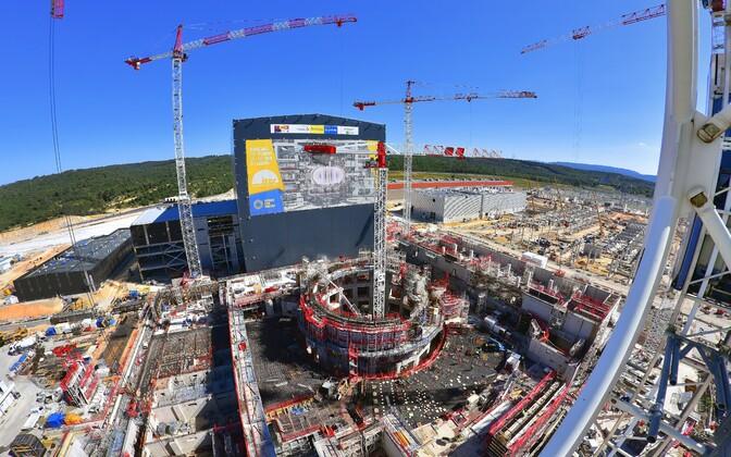 ITER-i ehitus tänavu suvel