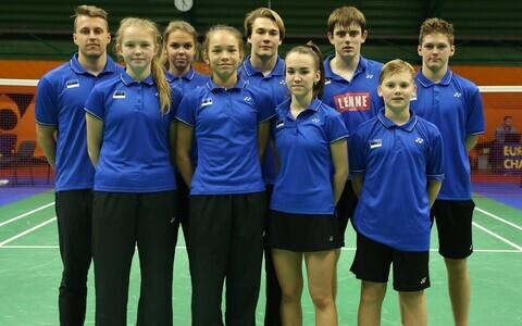 Eesti U-17 sulgpallikoondis