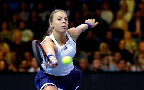 Tennise showmäng: Kaia Kanepi - Anett Kontaveit