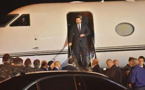 Саад Харири отсутствовал почти три недели.