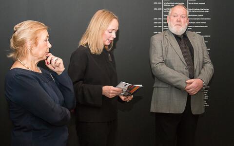 Helle ja Taevo Gaensi näituse avamine