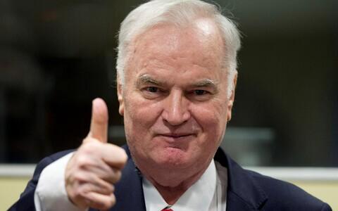 Ратко Младич перед оглашением приговора.