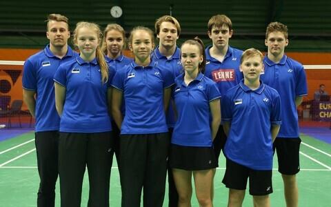 Eesti noorte sulgpallikoondis
