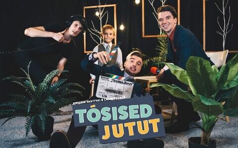 Muusik Artjom Savitski, näitleja Lauri Pedaja ja filmimees Siim Lukka teevad üheskoos lastesaadet