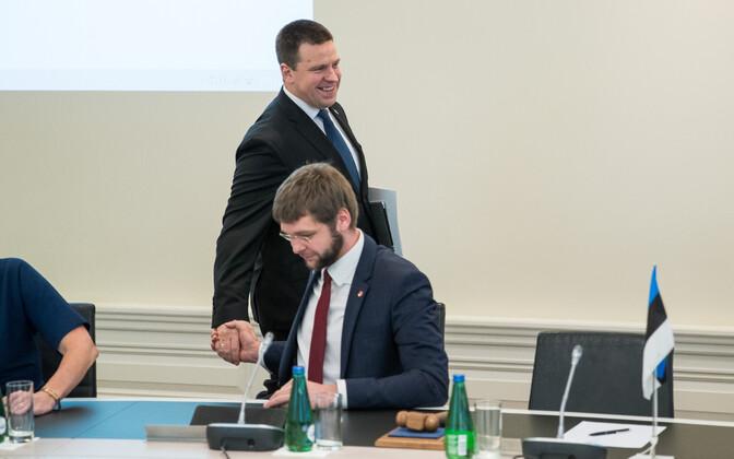 Valitsuse istung Stenbocki majas.