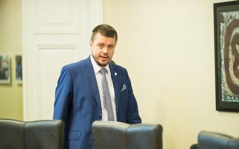 Minister of Justice Urmas Reinsalu.