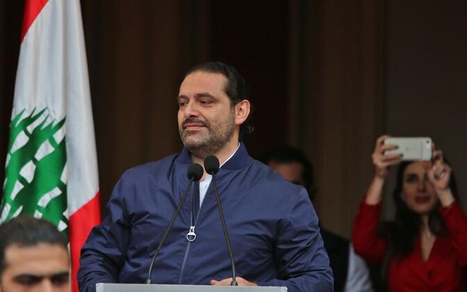 Liibanoni peaminister Saad al-Hariri.
