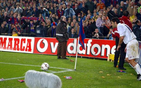 Luis Figo Nou Campi staadionil 2002. aastal
