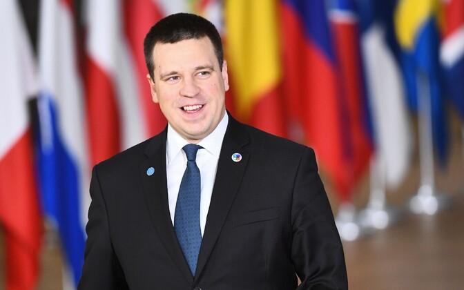 Юри Ратас на саммите