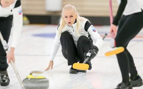 Eesti curlingunaiskonna kapten Marie Turmann